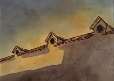 Le moine et le poisson - Michaël Dudok de Wit 1994 (23)