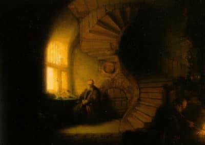 Le philosophe en méditation - Rembrandt (1632)