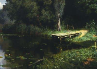 Le ponton - Vasily Polenov (1894)