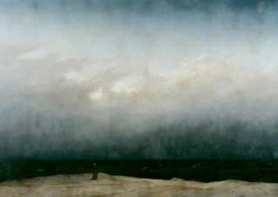 Monk by the sea - Caspar David Freidrich (1808)