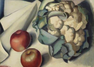 Nature morte au chou - Tamara de Lempicka (1931)