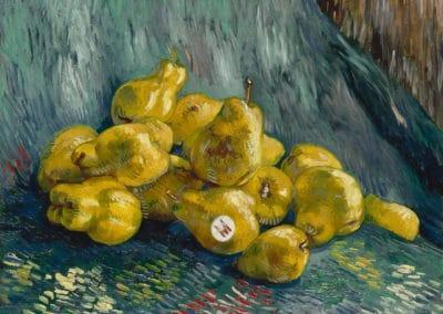 Nature morte aux poires - Vincent van Gogh (1887)