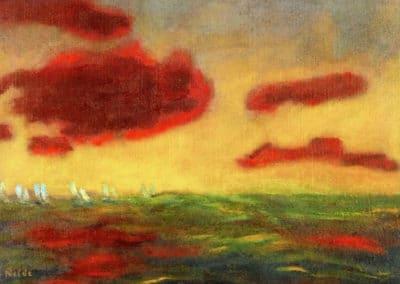 On the high sea - Emil Nolde (1949)
