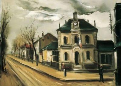 Place de la Mairie - Maurice de Vlaminck (1919)