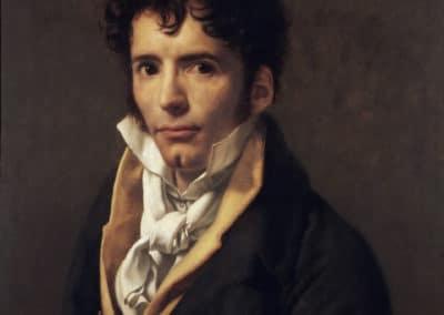 Portrait of a man - Anne-Louis Girodet de Roucy Trioson (1810)