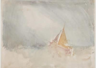 Ship and cutter - J. M. W. Turner (1825)