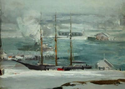Silver day - George Bellows (1912)