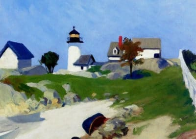 Squam light - Edward Hopper (1912)