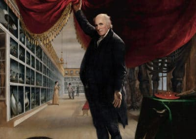 The artist in his museum - Charles Willson Peale (1822)