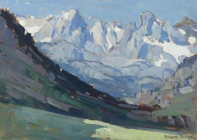 The eastern Sierra - Edgar Alwin Payne (1938)
