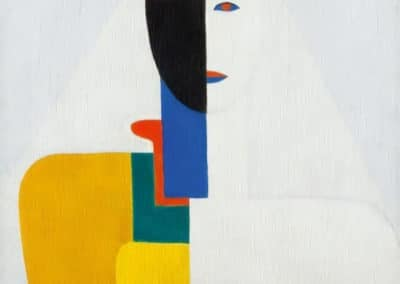 Torse de femme - Kazimir Malevich (1928)
