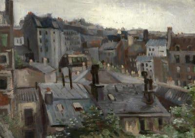 Vue du studio - Vincent van Gogh (1886)