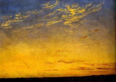 Вечер - Caspar David Friedrich (1809)