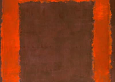 Untitled mural for end wall - Mark Rothko (1971)