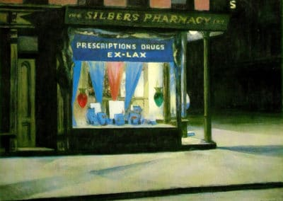 Drug store - Edward Hopper (1927)
