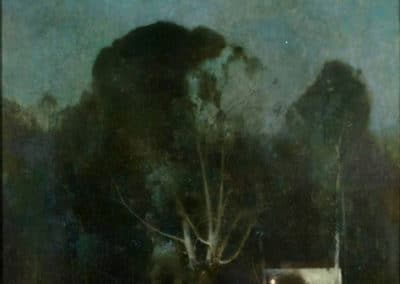 Night, Old Windham - Emil Carlsen (1904)