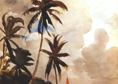 Palm trees - Winslow Homer (1899)