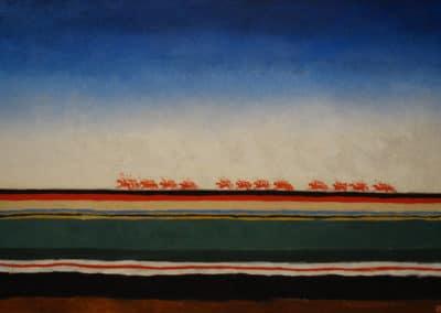 Red cavalry - Kazimir Malevich (1928)