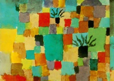 Southern (Tunisian) gardens - Paul Klee (1932)