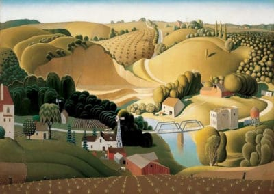 Stone City, Iowa - Grant Wood (1930)
