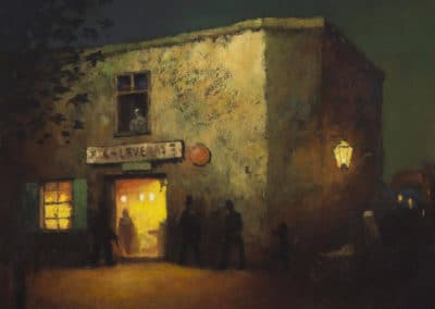 The Calaveras bar, old San Andreas - Will Sparks (1899)