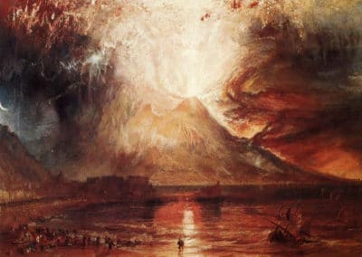 The eruption of Vesuvius - William Turner (1831)