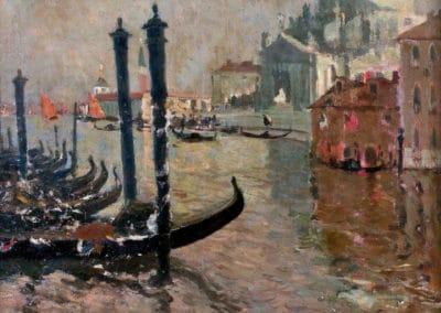 Vue de Venise - Louis Abel Truchet (1889)