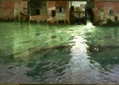 Water mill - Frits Thaulow (1892)