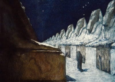 Path of silence - František Kupka (1900)