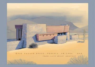 Rose Pauson House - Frank Lloyd Wright 1939 (3)