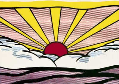 Sunrise - Roy Lichtenstein (1965)