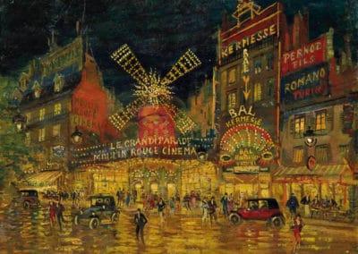 Moulin Rouge, Paris - Constantin Korovin (1926)