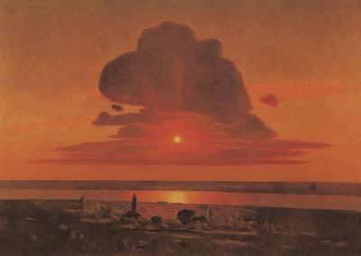 Red sunset - Arkhip Kuindzhi (1908)