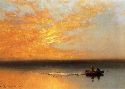Sunset - Charles Henry Gifford (1899)