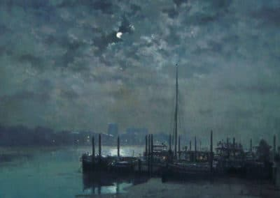 Thames moonlight - Rod Pearce (1989)