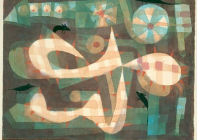 The barbed noose with the mice - Paul Klee (1931)