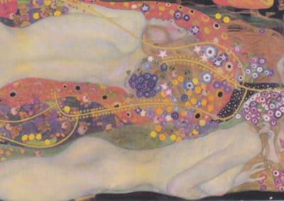 Water snakes II - Gustav Klimt (1907)