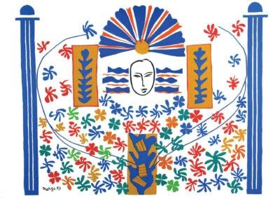 Apollo - Henri Matisse (1953)
