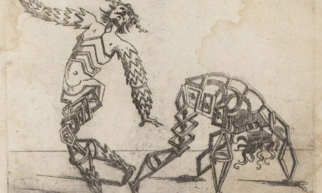 Les bizarreries des formes – Giovanni Battista Bracelli