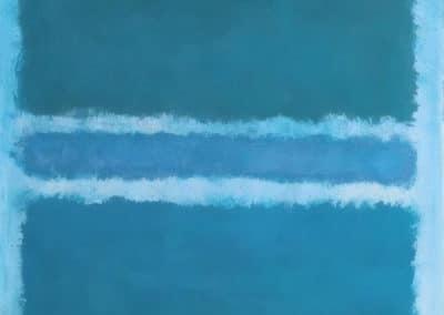 Blue divided by blue - Mark Rothko (1966)
