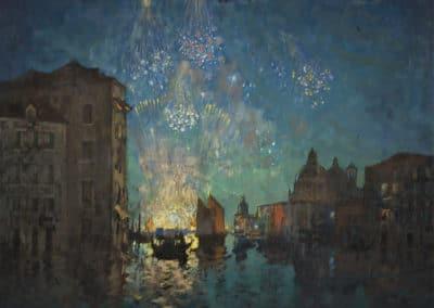 Fireworks Venice - Konstantin Gorbatov (1935)