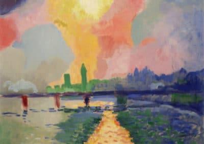 Le pont de Charing Cross - André Derain (1906)