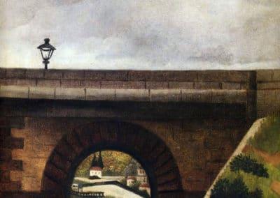Le pont de Sevres - Henri Rousseau (1895)