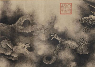 Nine dragons (details) - Chen Rong (1244)