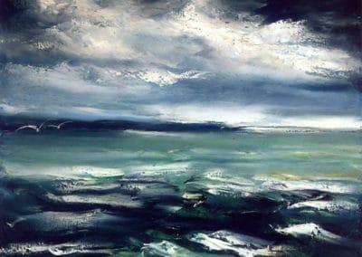 Paysage marin - Maurice de Vlaminck (1939)