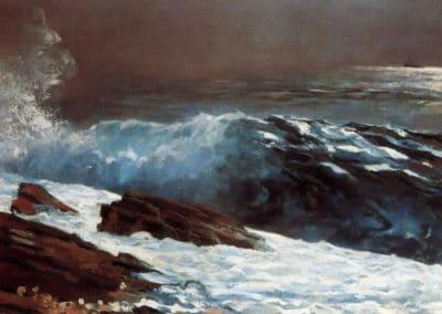 Sunlight on the Coast - Winslow Homer (1890)
