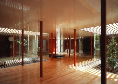 Weekend house - Ryue Nishizawa (1998) - 2