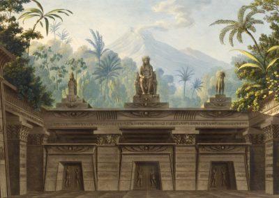 Décors pour la flûte enchantée - Friedrich Schinkel 1816 (1)