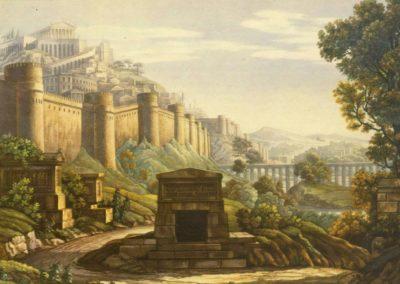 Décors pour la flûte enchantée - Friedrich Schinkel 1816 (5)