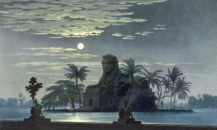 Décors pour la flûte enchantée – Friedrich Schinkel